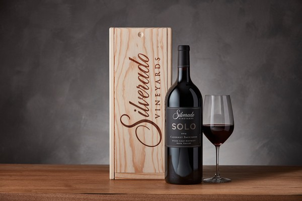 2015 SOLO Cabernet Sauvignon 1.5L with Wood Box