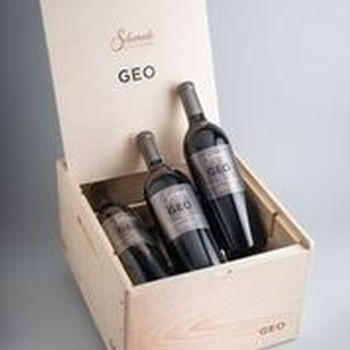 2015 GEO Cabernet Sauvignon 6pk with Wood Box Image