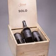 2017 SOLO Cabernet Sauvignon 6pk with Wood Box